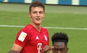 2-0!24岁世界冠军后卫14分钟独造2球,拜仁追平德甲1神奇纪录