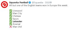 23-4!英超踢疯了,7强出征欧战豪取6胜1负,仅曼联爆冷输球