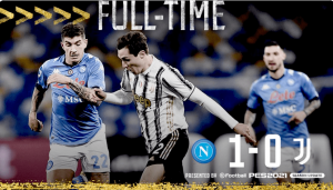 意甲-那不勒斯1-0尤文,莫拉塔进球被吹